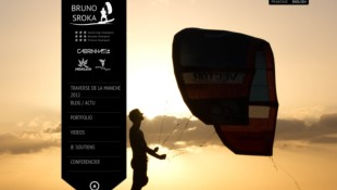 Bruno Sroka World Champion Kitesurfer